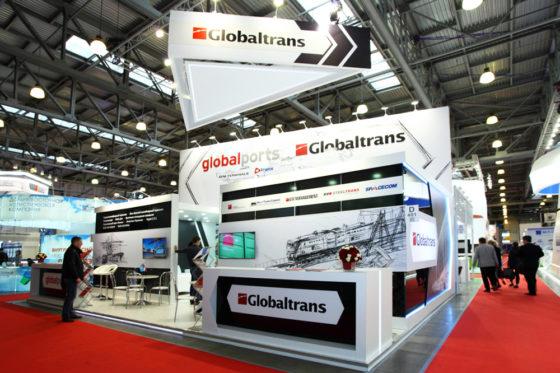 Стенд для компании Globalports Globaltrans